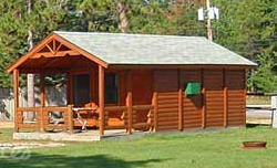 Camping Cabins - Click on this photo to see a larger photo