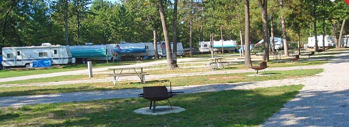 Campground - Click on this photo to see a larger photo